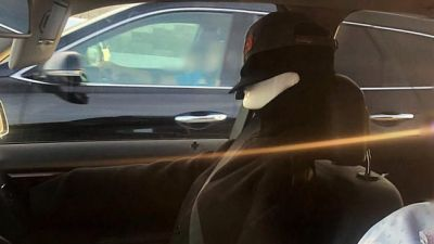 A motorist was caught using a mannequin to drive in the carpool lane