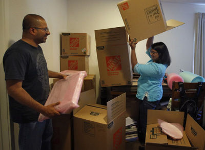 Faced with the exorbitant rising costs of Bay Area living, Priya Govindarajan and Ajay Patel pack up their apartment in San Francisco