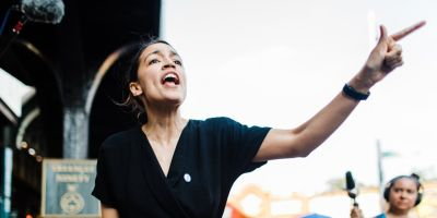 Alexandria Ocasio-Cortez joined a Justice Democrats call centered around an effort that would primary Democrats in 2020