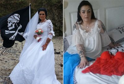 Amanda Teague is married to a Haitian pirate called Jack