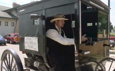 Amish Uber kicks off the ground