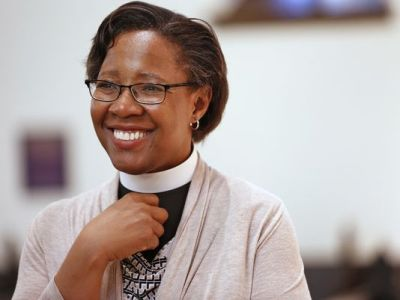 Episcopal bishop Baskerville-Burrows