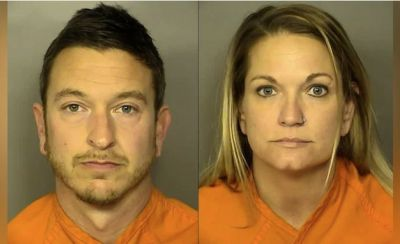 Eric and Lori Harmon South Carolina couple arrested after having sex on Myrtle Beach Ferris wheel