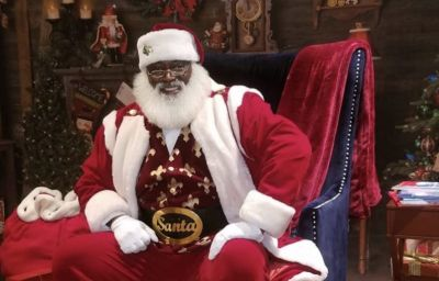 black Santa Claus rose to mainstream popularity and became what it is today
