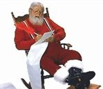it is naughty to grope Santa