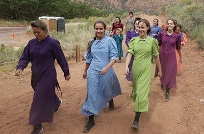 Community members in Hildale, Utah