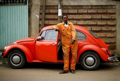 cars as old as 25 years no longer able to meet emission standards are being exported to Africa