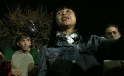 Yvette Felarca was among the leaders of the December 2014 Black Lives Matter protests in Berkeley, as well as protests against Donald Trump and Milo Yiannopoulos