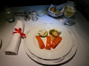 airline food back in the golden age