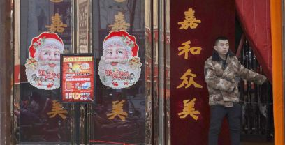 Many citizens and businesses around China have reportedly been forbidden to celebrate or put up decorations for Christmas