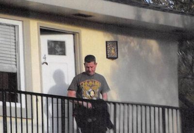 photo was taken outside a man's home in San Jose, California, on March 1 — the day before federal authorities arrested him on charges that he had been impersonating a Drug Enforcement Administration agent and making traffic stops