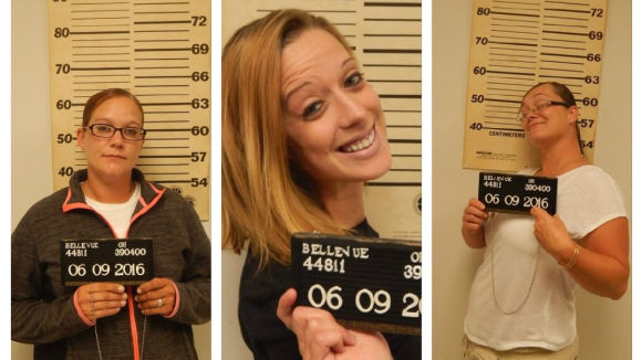 Ashley England, Mary Jordan and Sammie Whaler were arrested for allegedly assaulting an employee in a McDonald's parking lot