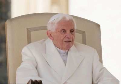 Traditionalist former Pope Benedict XVI, whose original name is Joseph Ratzinger