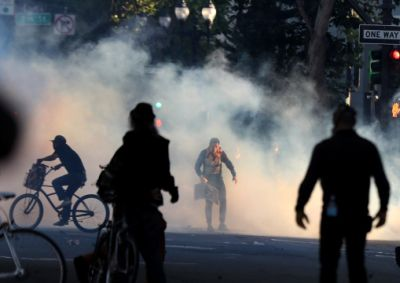 Tear gas use has been suggested to lead to miscarriage in the past