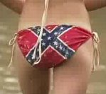bikini chick confederate ass wrapper