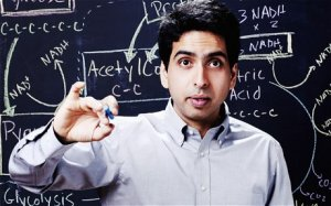 Salman Khan, whose virtual school Khan Academy is attended by three million users a month