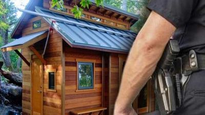 Government clamps down on off-grid cabins