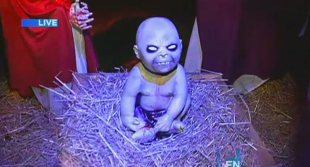 zombie baby Jesus nativity